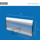 WFVLL7c-30cm de alto por 76cm de ancho