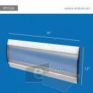 WFVLL8c-30cm de alto por 91cm de ancho