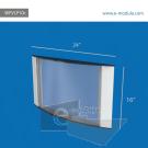 WFVLP10c-60cm de ancho   por 40cm de  alto