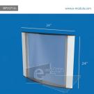WFVLP12c-60cm de ancho  por 60cm de  alto