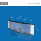 WFVLP13c-70cm de ancho por 22cm de alto