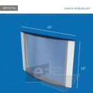 WFVLP16c-70cm de ancho por 60cm de alto